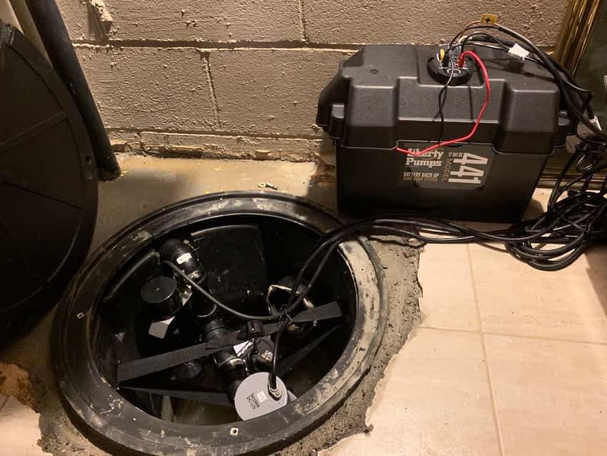 Battery Backup Sump Pump Systems, Ontario