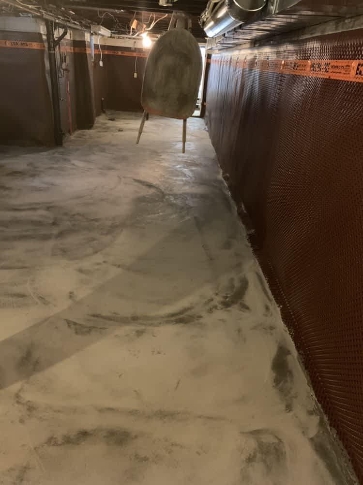 leaking basements