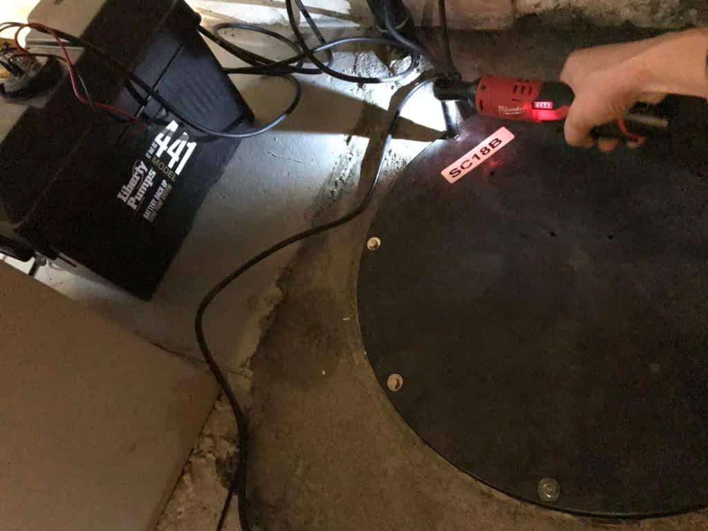 backup battery sump pump