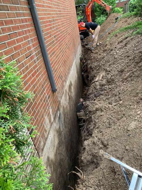 Basement Waterproofing Services in Dundas