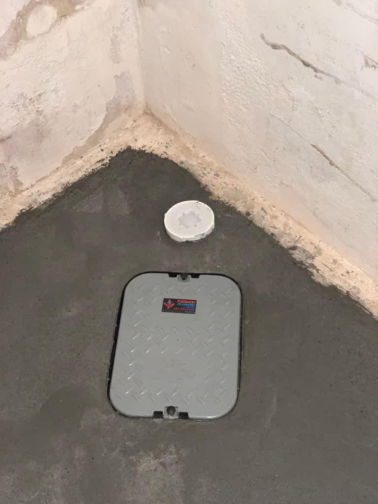 Backwater Valve Installation