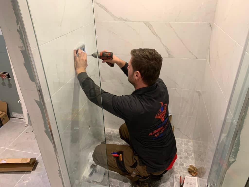 shower and Bathtub installation